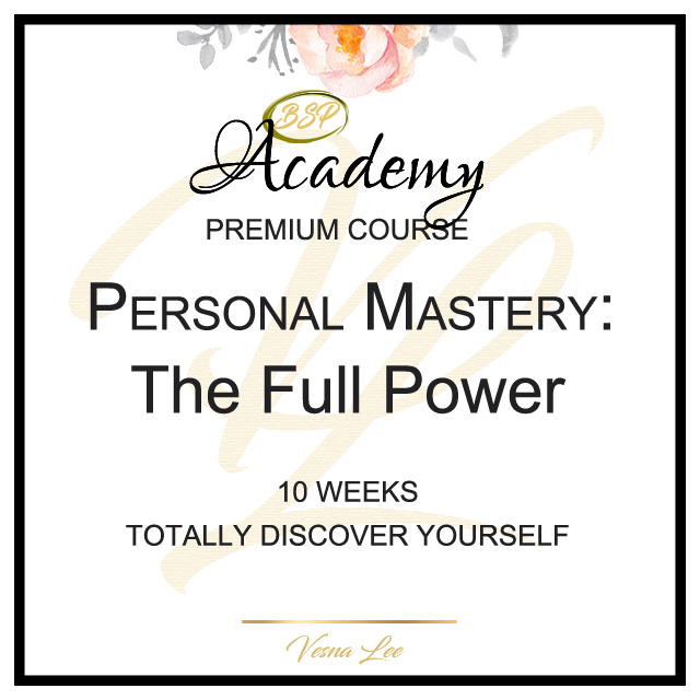Personal Mastery by Vesna Lee